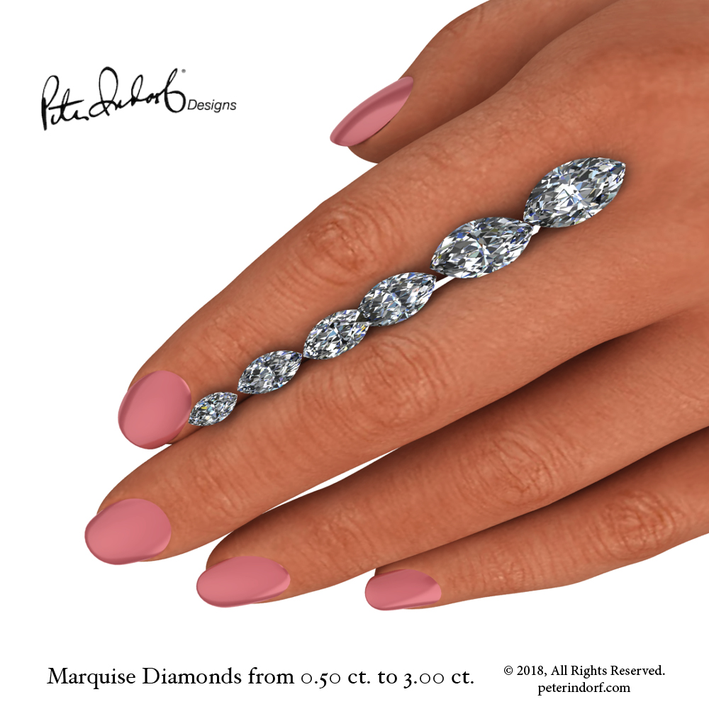 HAND MARQUISE SHAPED